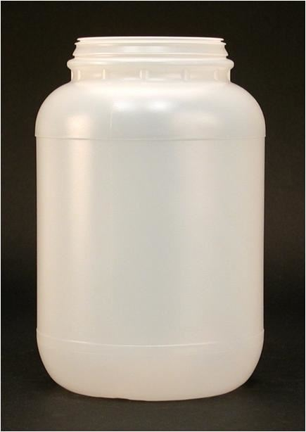 Wide Mouth Smooth Cylinder 128 oz